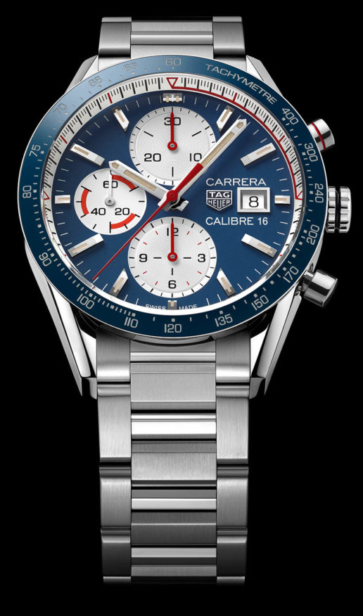 02b592df087 TAG Heuer has now unveiled two new stylish, vintage-inspired timepieces  featuring the TAG Heuer Carrera Calibre 16 chronograph with a 41mm  diameter: a black ...