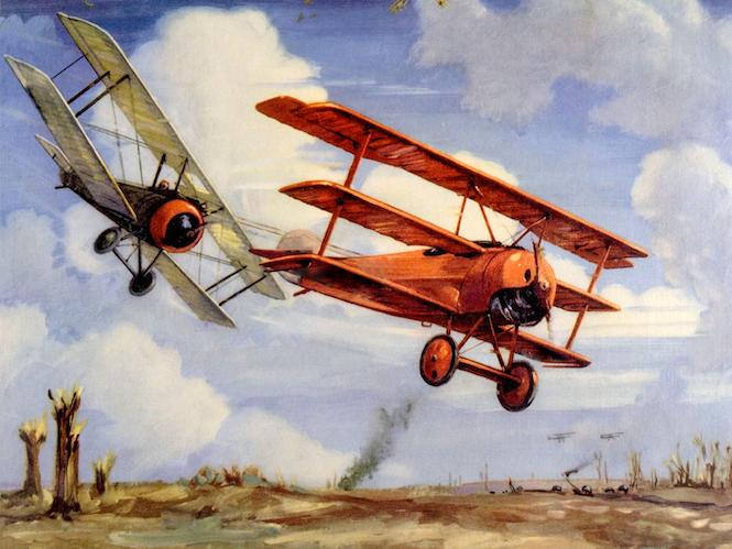 Aviator Red Baron